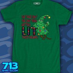Christmas – Lit like a Christmas Tree