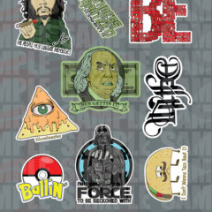 713 Sticker Sheets