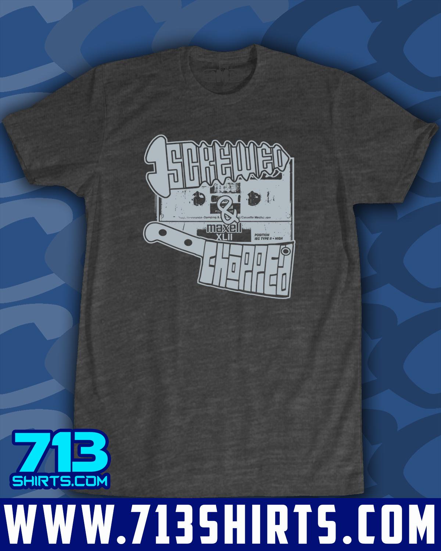 Shirt design dallas tx - Screwed Up Screwed N Chopped 1 Color