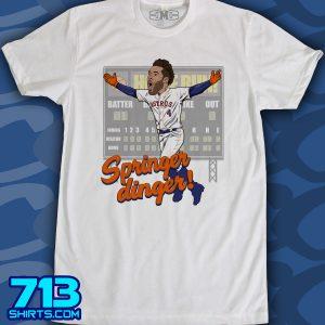 Astros: Springer Dinger