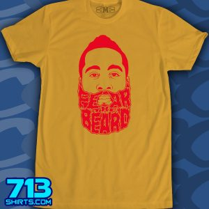 Rockets – Fear The Beard (1 color)